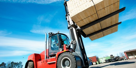 Kalmar DCG90-180, The first forklift truck in the G-generation.